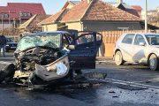 FOTO/VIDEO - Tragedie în prima zi de Crăciun. Un mort și cinci răniți pe Calea Baciului, lângă Lidl