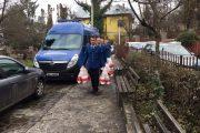 FOTO - Jandarmii clujeni, în vizită la copiii internați în Institutul Oncologic