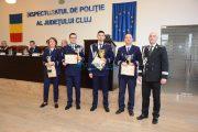 GALERIE FOTO - Cine sunt polițiștii anului 2017 la Cluj