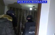 Polițiștii clujeni, percheziție în Alba