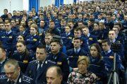 FOTO - Prima zi de școală în uniforma de poliție pentru 300 de elevi admiși în sesiunea ianuarie 2018