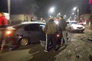 FOTO - Accident grav în Florești, doi tineri duși de urgență la spital