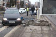VIDEO - Șofer beat, accident în Plopilor. Nu a recunoscut că a fost la volan, un martor l-a dat de gol