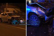 VIDEO - Accident grav pe strada Corneliu Coposu, trei persoane rănite. O șoferiță a ieșit cu mașina direct pe banda a doua