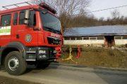 FOTO - Doi copii au suferit arsuri într-un incendiu izbucnit în comuna Bobâlna
