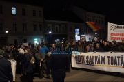 VIDEO - Protest pentru Justiție, la Cluj-Napoca