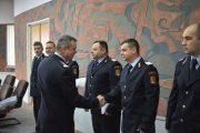 Avansări în gradul următor, la ISU Cluj, cu ocazia Zilei Protecției Civile