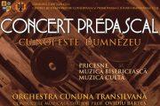 """""""Cu noi este Dumnezeu"""" - Concert  de pricesne, muzică bisericească şi cultă. Intrare liberă"""