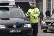 Polițiștii de la rutieră au