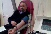 FOTO - Exemplu demn de urmat! Mai multe cadre militare ale Unităţii Speciale de Aviaţie Cluj-Napoca au donat sânge