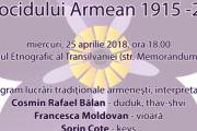 Genocidul împotriva armenilor comemorat printr-un concert în premieră