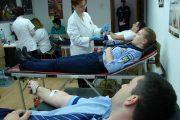 Zeci de elevi și angajați ai Școlii de Agenţi de Poliţie Cluj au donat sânge
