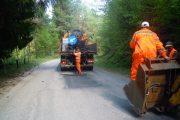 Lucrări de întreținere pe drumul județean 107P Gilău (DN1) – Someşu Rece – Someşu Cald – Mărișel