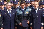 FOTO - Pugilistul Mihai Leu, polițist pentru o zi la Cluj-Napoca