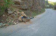 ATENȚIE! Între Gilău și Mărişel cad pietre de pe versanţi