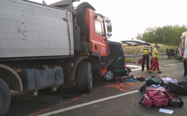 FOTO/VIDEO - Accident cu 9 români morți în Ungaria, șoferul român era live pe Facebook