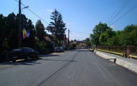 Au fost finalizate lucrările de asfaltare pe drumul județean 103G Tureni – DN1 (E 60)