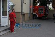 VIDEO – Incendiu la fosta Medicală III