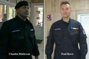 Ei sunt eroii zilei! Doi jandarmi clujeni au salvat un bărbat care căzuse sub un tren aflat în mișcare