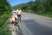 Lucrări de întreținere pe drumul județean 109C Fizeșu Gherlii – Sântioana - Ţaga