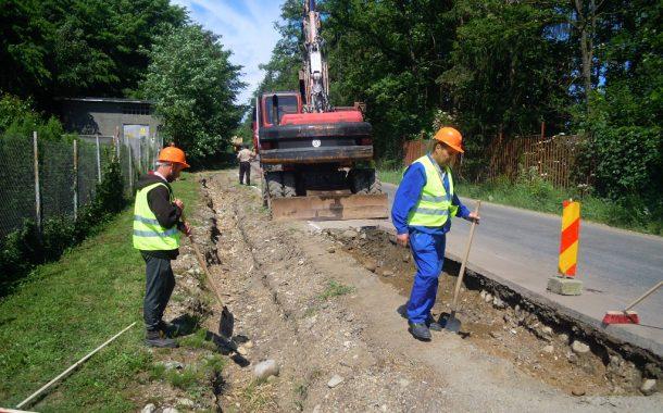 Lucrări de întreținere pe încă un drum județean din Cluj