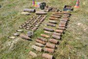 Peste 1.600 de elemente de muniție au fost detonate la Cluj