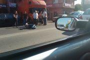 Pieton accidentat pe strada București