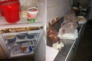 FOTO - Probleme găsite de comisarii de la Protecția Consumatorilor la o shaormerie din Gilău