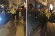 VIDEO - Strada Piezişă, din nou periată de oamenii legii