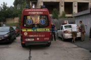 UPDATE - VIDEO - Incident șocant în Mănăștur. Un tânăr de 16 ani a căzut de pe un bloc aflat în construcție pe strada Arinilor