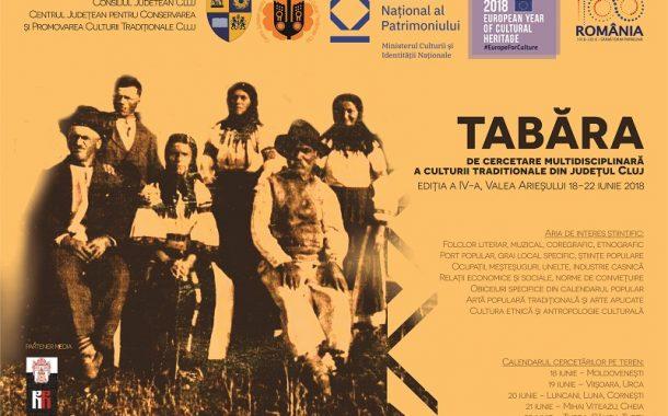 Tabără de cercetare multidisciplinară a culturii tradiționale din județul Cluj