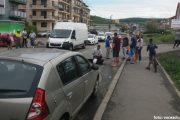 FOTO - Accident deosebit de grav pe strada Eroilor din Florești