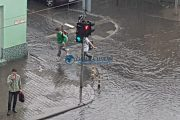 FOTO/VIDEO - Clujul, sub ape după ploaie