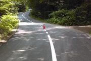 Au fost finalizate lucrările de marcaje rutiere pe drumul județean 103G Tureni (DN 1) – Ceanu Mic – Aiton – Gheorgheni
