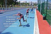 Cupa Cortina Café la patinaj viteză pe role, duminică, la Baza sportivă Gheorgheni