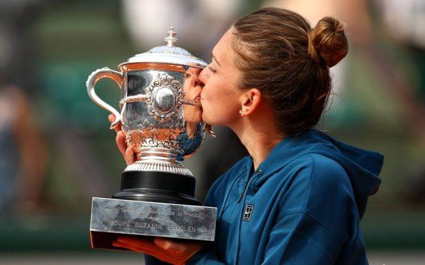 Simona Halep a câştigat primul său titlu de Mare Şlem, la Roland Garros