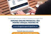 Primăria Cluj-Napoca continuă proiectul Bugetare participativă online
