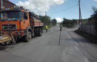 Au început noi lucrări pe un drum județean din Cluj