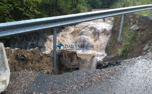 Bani de la Guvernul României pentru înlăturarea efectelor calamităților naturale care au afectat drumurile județene din Cluj