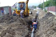 Au început lucrările de racordare a satului Boju la rețeaua publică de apă a județului