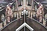 """VIDEO - Escroaca din imagini a dat o țeapă de 10.000 de lei prin metoda ,,accidentul"""". Sunați la 112 dacă o recunoașteți!"""
