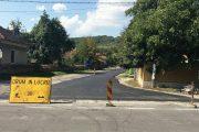 Lucrări de asfaltare între Căpușu Mare și Râșca