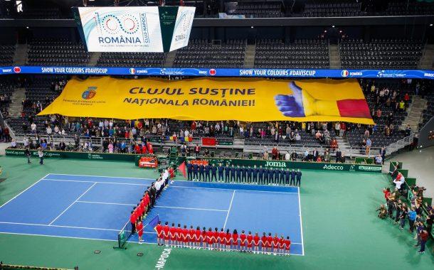 Meciul România - Polonia, din Cupa Davis by BNP Paribas, se va juca la Cluj- Napoca, pe zgură