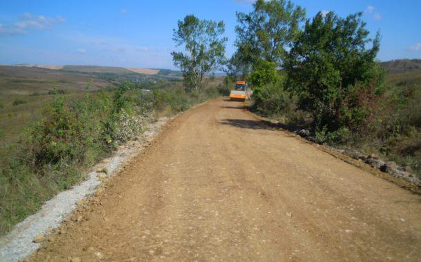 Lucrări de întreținere pe drumul județean 109V Pădureni – Satu Lung