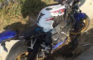FOTO - Motociclist rănit grav pe VOCNE, la Apahida