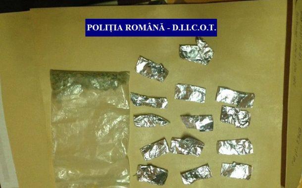 Traficanți de droguri reținuți de BCCO Cluj și DIICOT
