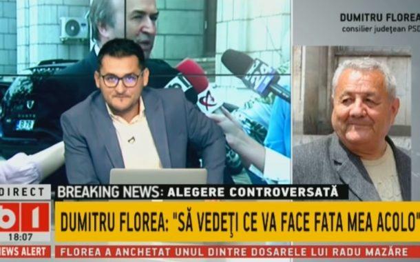 VIDEO - Tatăl Adinei Florea, propusă de ministrul Justiției pentru funcția de procuror șef al DNA, intervenție halucinantă la B1 TV
