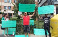 Floreștenii s-au pus pe proteste. Pichetează din nou Primăria din localitate