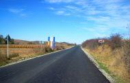 A fost finalizată asfaltarea drumului județean DJ 161 Dăbâca – Pâglişa – Dârja – Panticeu