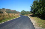 Au fost finalizate lucrările de întreţinere pe drumul judeţean 161D (DJ 172F) Nireş – Unguraş – Valea Unguraşului